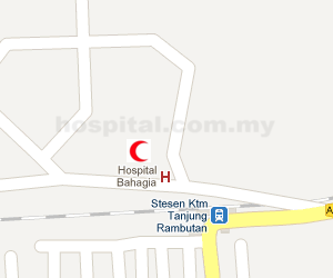 Hospital Bahagia (Tanjung Rambutan) Location Map