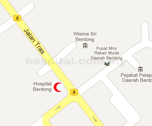 Hospital Bentong Location Map