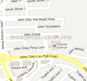 Hospital Fatimah Location Map