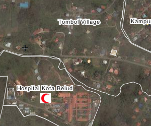 Hospital Kota Belud Location Map