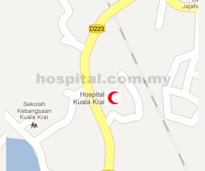 Hospital Kuala Krai Location Map