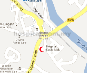 Hospital Kuala Lipis Location Map