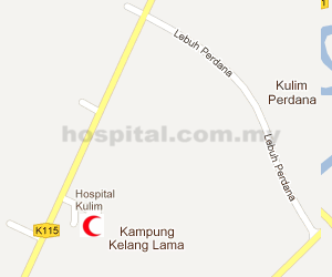 Hospital Kulim Location Map