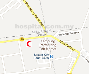 Hospital Parit Buntar Location Map