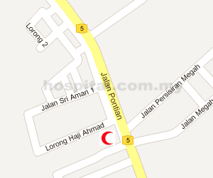 Hospital Pontian Location Map