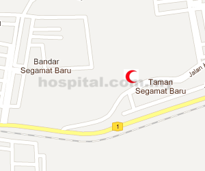 Hospital Segamat Location Map