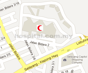 Hospital Selayang Location Map