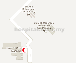 Hospital Seri Manjung Location Map