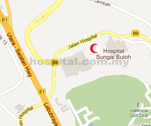 Hospital Sungai Buloh Location Map