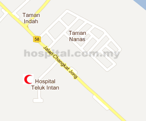 Hospital Teluk Intan Location Map