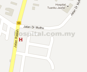 Mawar Renal Medical Centre Location Map
