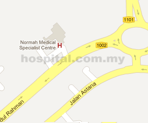 Normah Medical Specialist Centre Location Map
