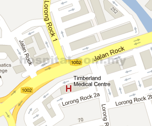 Timberland Medical Centre Location Map