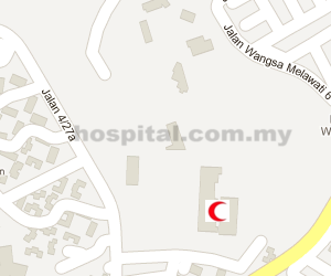 Tuanku Mizan Military Hospital Location Map